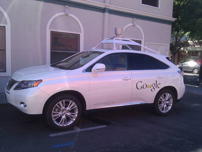 Image of Google Car from Wikipedia